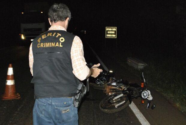 Motociclista morre após acidente na BR-163