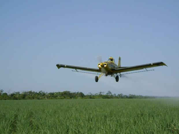 Acidente com aeronave agrícola deixa trabalhador gravemente ferido em Chapadão do Sul