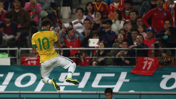 Seleção Brasileira abre, com vitória, a rodada de futebol do fim de semana