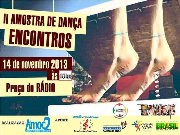 Ponto de Cultura da Coophavila II promove segunda edição da Mostra de Dança Encontros