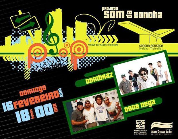 Som da Concha volta neste domingo com apresentações de Dombraz e Dona Nega