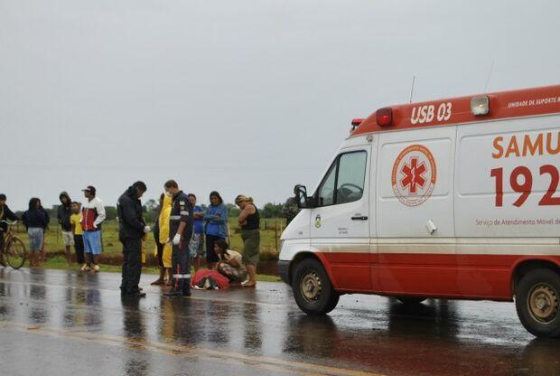 Após ser atingido por raio, adolescente indígena morre em Dourados