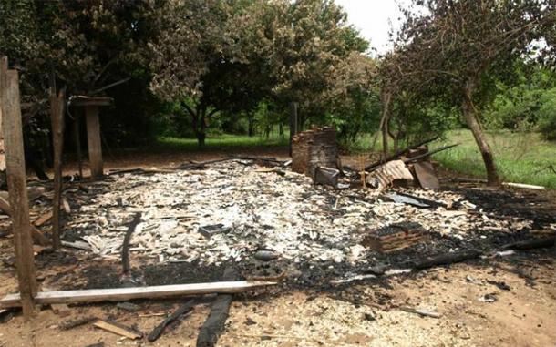 Incêndio de casa em 'ilha' de MS segue sem explicação