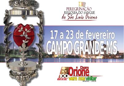 Relíquia de São Luís Orione vem à Capital, pela primeira vez