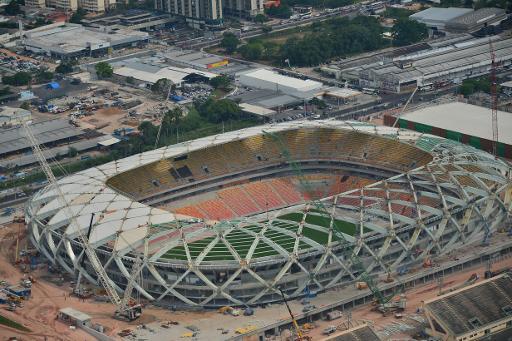 Mais um operário morre em acidente na obra do estádio de Manaus