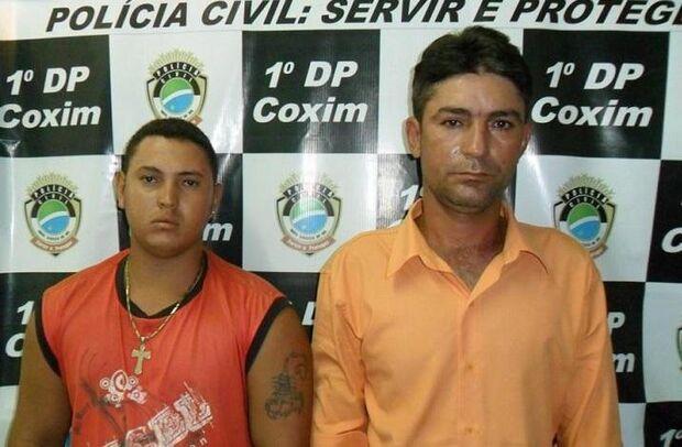 Polícia prende dupla acusada de matar idoso em Coxim