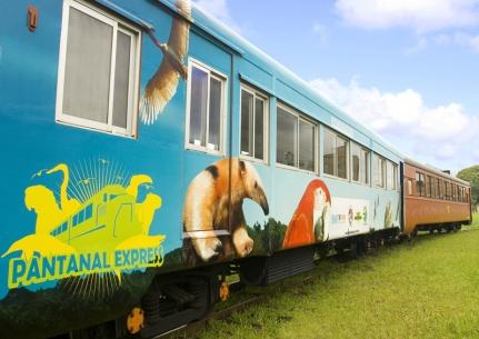 Trem do Pantanal, uma opção de lazer nesse feriado