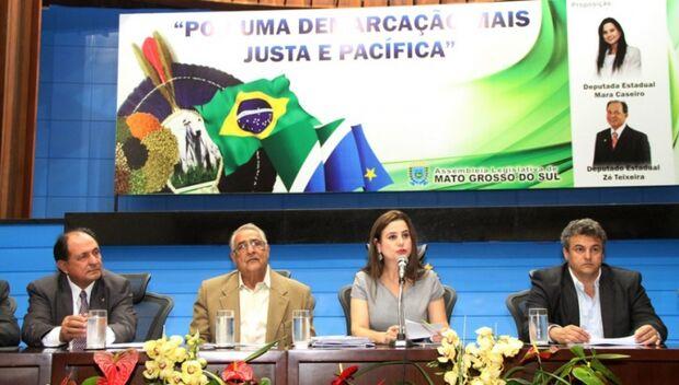 Mara Caseiro defende reforma agrária para os índios em MS
