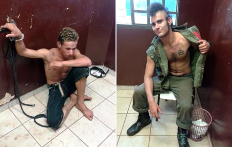 Jovens Punks são presos por vandalismo ao depredar escritório de deputado estadual