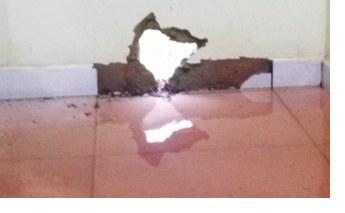 Chuva alaga casas e destrói móveis em Sidrolândia