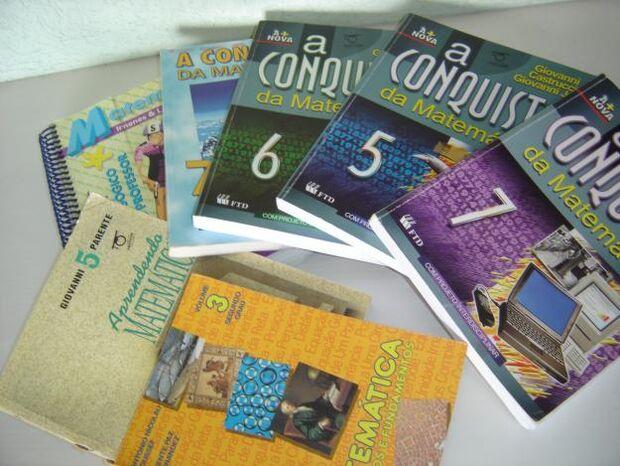 Escolas públicas receberão livros didáticos até o dia 10 de fevereiro