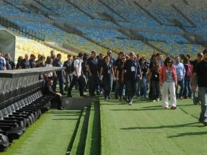 Estádios recebem vistorias da Fifa e COL antes da Copa do Mundo