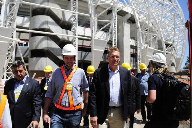 Valcke visitará os estádios da Copa na semana que vem