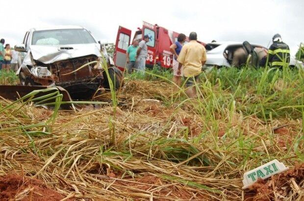 Taxista morre após se envolver em acidente na rodovia MS-276 em Batayporã