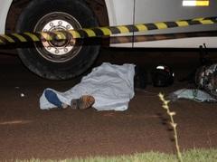 Colisão envolvendo ônibus e moto faz uma vítima fatal em MS