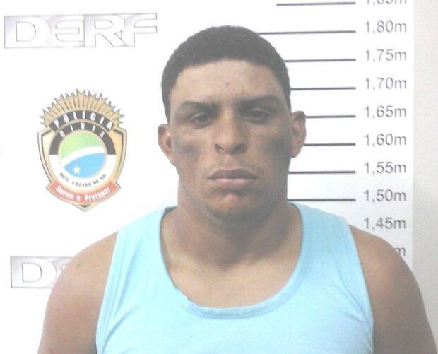 Homem é preso após cometer série de crimes na Capital