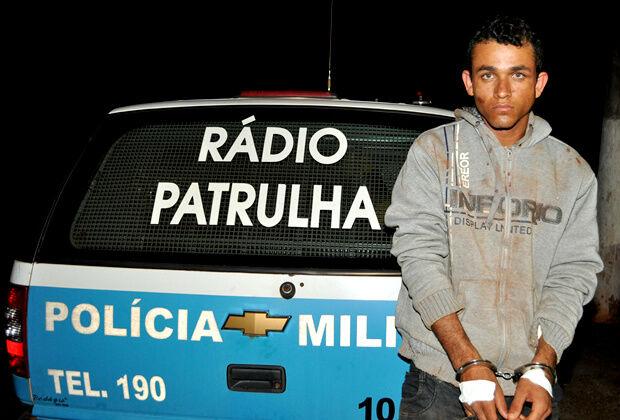 Dupla rouba postos de combustíveis e um acusado acaba preso