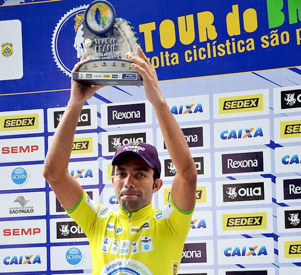 Ciclistas de MS sobem ao pódio no Tour do Brasil em São Paulo