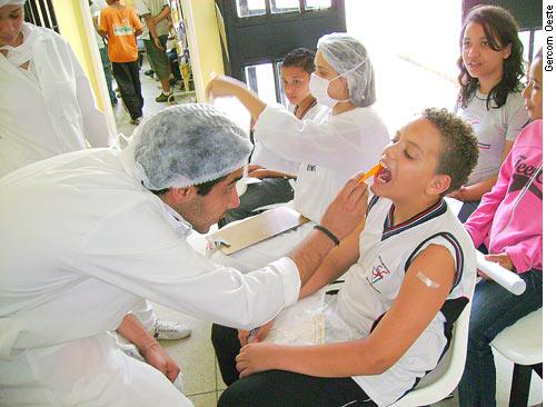 Projeto amplia cuidados com a saúde nas escolas públicas