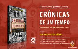 Crônicas de um Tempo será lançado amanhã na Capital