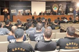 Sejusp e Ministério Público Estadual deflagram Operação Erínias
