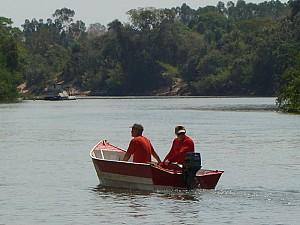 Bombeiros continuam buscas por jovem desaparecido no Rio Aquidauana