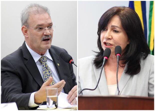 Geraldo Resende e Délia Razuk negam parceria e devem se enfrentar por prefeitura