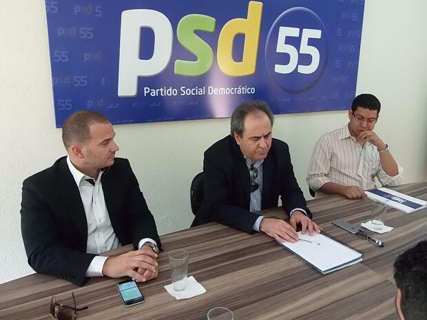 PSD atende ministro e escolhe Gatti para comandar o partido na Capital