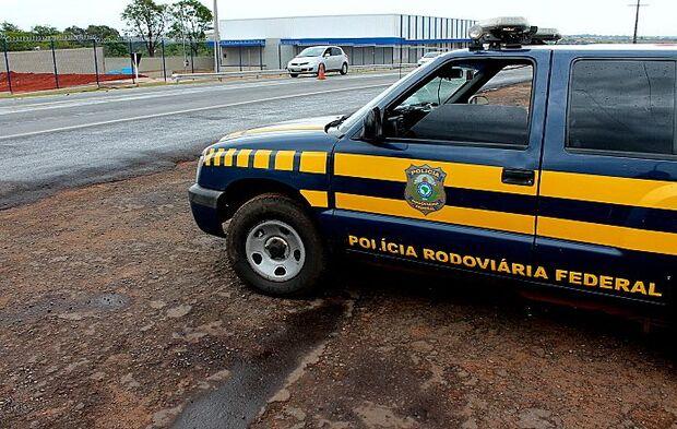 PRF apreende mais de 20kg de cocaína próximo a Sidrolândia