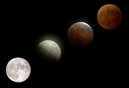 Último Eclipse Lunar do ano ocorre nesta sexta