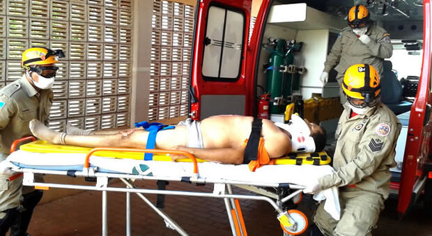 Trabalhador é atropelado por rolo compressor e morre após dar entrada em hospital