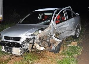 PM embriagado provoca acidente na BR-060