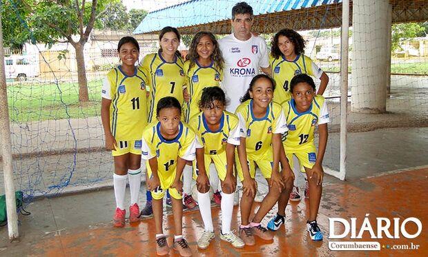 Atletas de Corumbá se preparam para disputar Taça Brasil de Futsal Feminino