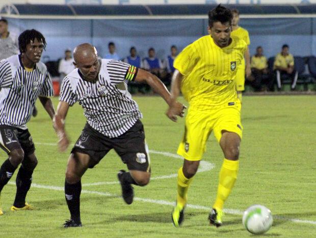 Cene e Novoperário estão em campo disputando pelo Campeonato Estadual