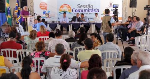 Segunda sessão comunitária acontece hoje no Paulo Coelho Machado