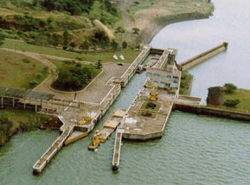 Estiagem leva produtores a migrar transporte hidroviário para rodovias