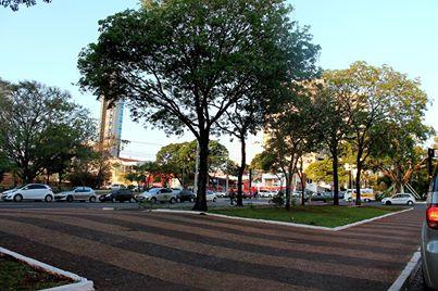 Sábado de sol em Campo Grande