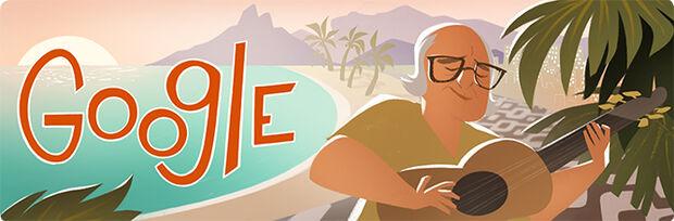 Doodle do Google homenageia centenário de Vinícius de Moraes