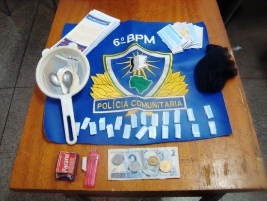 BPM de Corumbá fecha ponto de drogas no bairro Cervejaria