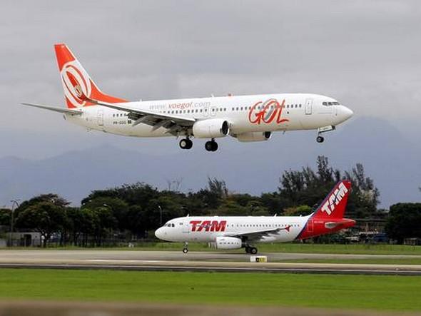 Aéreas no Brasil esperam recorde de passageiros