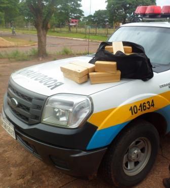 Traficante que levaria droga para Bataguassu é preso na MS-270
