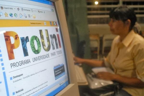 Resultado da primeira chamada do ProUni é divulgado nesta segunda