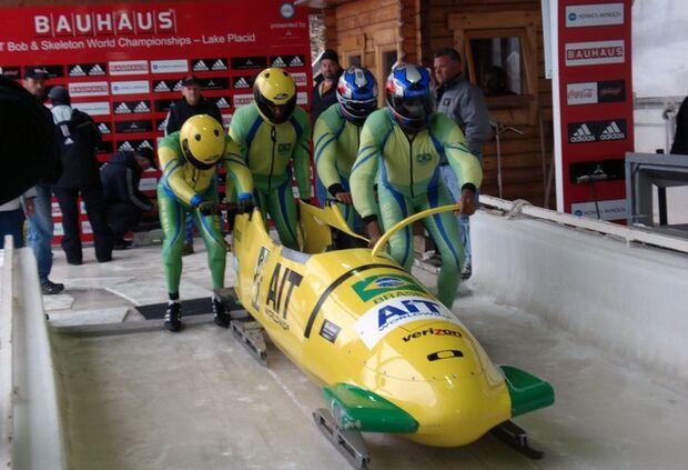 Bobsled brasileiro classifica duas equipes para os Jogos de Sochi