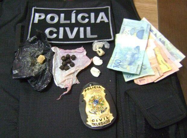Casal é preso em Maracajú por tráfico de drogas