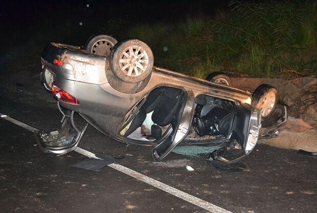 Investigador morre após veículo capotar em curva da BR-359