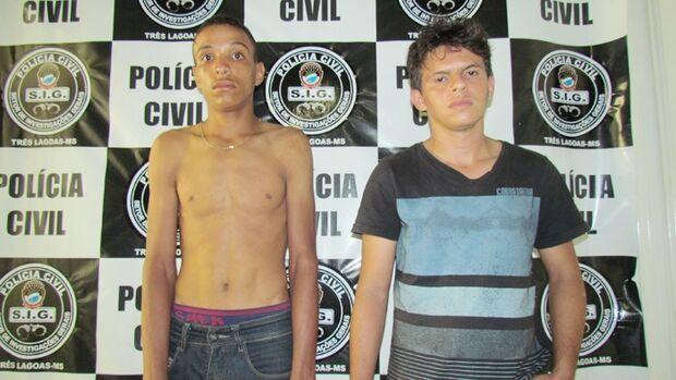 Criminosos tentam roubar carro, atiram contra a vítima e dois acabam presos
