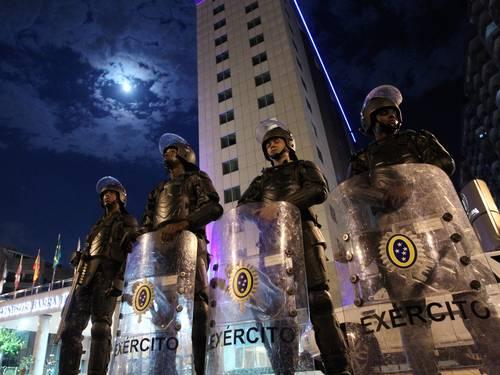 Exército já reforça segurança para leilão do pré-sal da área de Libra