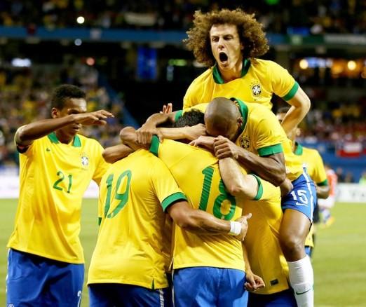 Brasil fecha o ano de amistosos com mais uma vitória