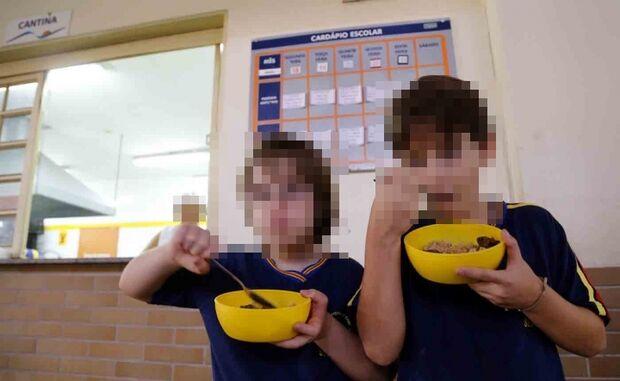 Pais denunciam problemas no cardápio da merenda em escola da Capital