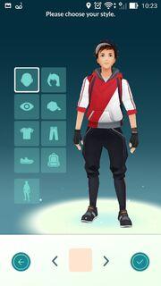 Como personalizar o visual do treinador em Pokémon Go